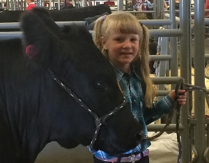 Jolynn Jones First Year Beef Showmanship