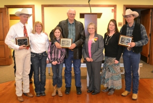 2016 Centennial Ranch award-Eastfork Livestock-Joel Bousman family, courtesy Joy Ufford at Sublette Examiner-Pinedale Roundup