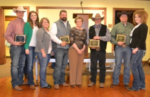 2016 Centennial Ranch award-Mosquito Creek Ranch-Steve and Susan Hoffman family, courtesy Joy Ufford at Sublette Examiner-Pinedale Roundup