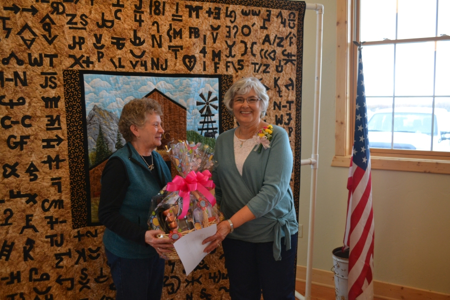 2016 GRVC Lifetime Member Rosemary Aultman with Sherri Bohleen, courtesy Joy Ufford at Sublette Examiner-Pinedale Roundup